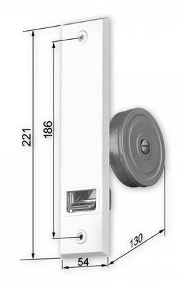 online shop einlass gurtwickler f r 20 24 mm gurte storenmaterial shop ersatzteile. Black Bedroom Furniture Sets. Home Design Ideas